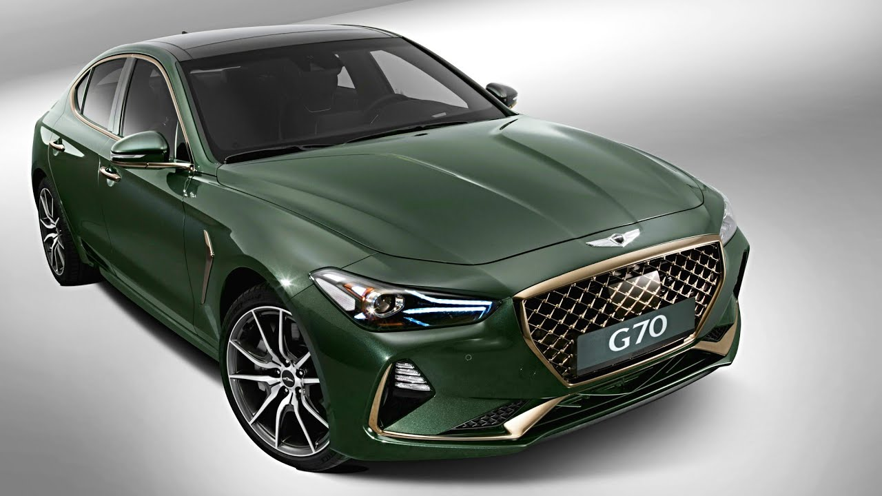 New Hyundai Genesis G70 2018 Luxury Car