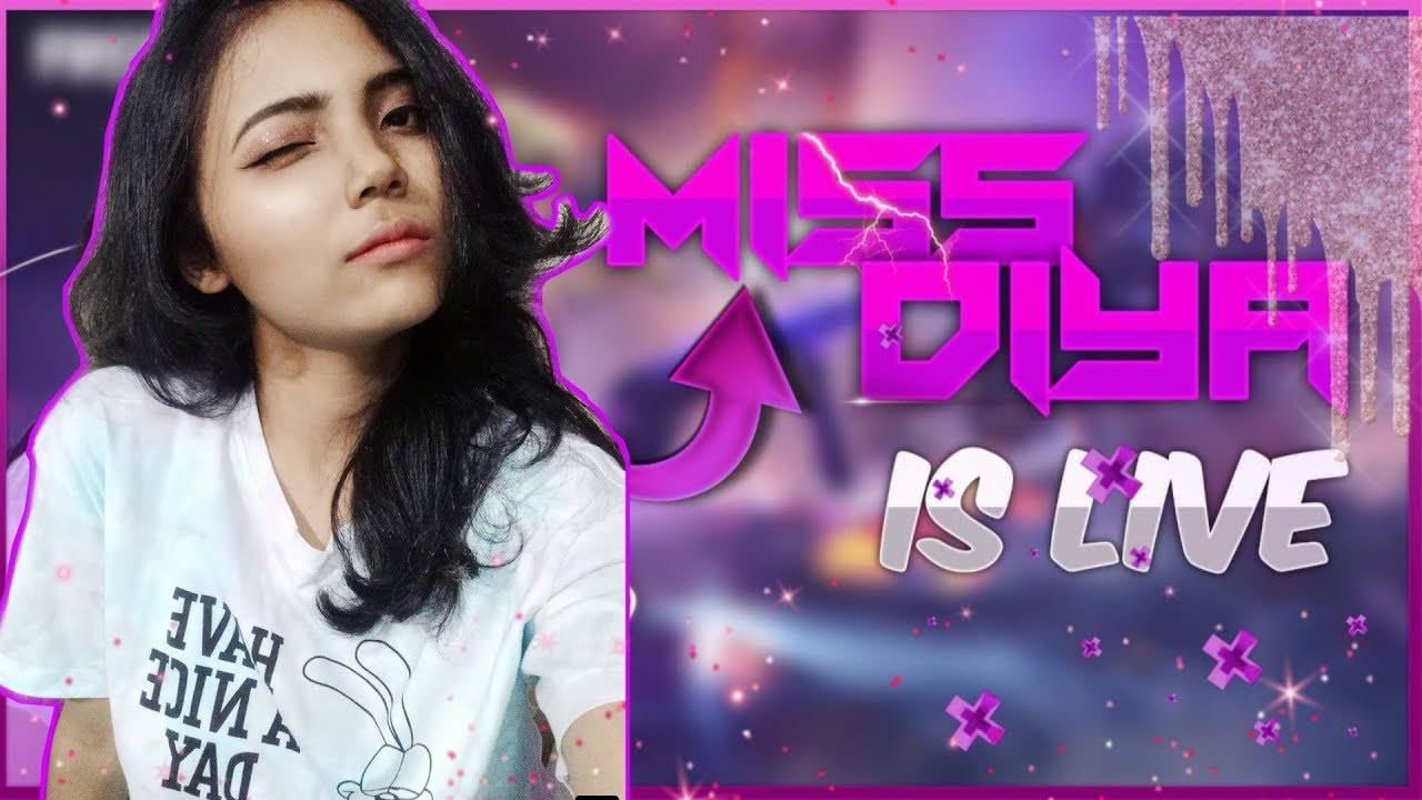 Free Fire Live- Rush OP Shot Gameplay With Sniper Girl Miss Diya