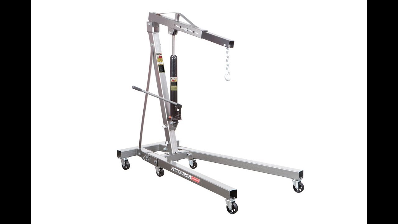 Is The Harbor Freight Pittsburg 2 Ton Engine Hoist Shop