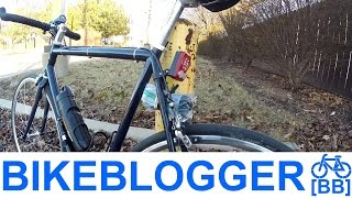 Spare Bike Tube In Rear Triangle Tip Of The Day! Weekend Commute BikeBlogger