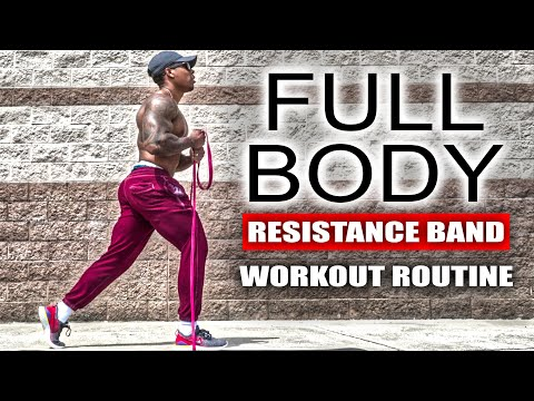 10 MINUTE FULL BODY WORKOUT (RESISTANCE BAND)
