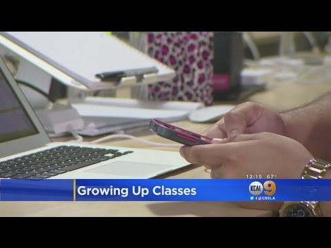 New Classes Teach 'Growing Up' Skills To Millennials
