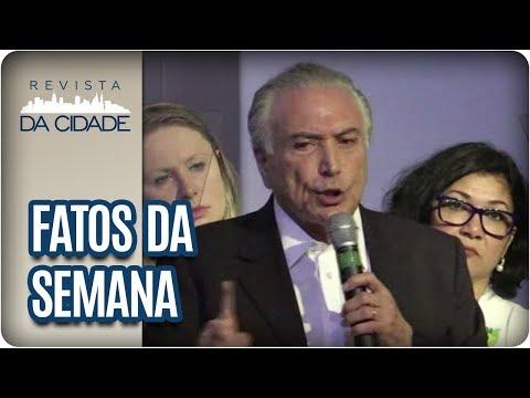Votação Da Denúncia De Corrupção Contra Michel Temer - Revista Da Cidade (01/08/2017)