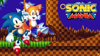 Sonic Mania (PS4) [4K] (Sonic & Tails) - Green Hill Zone