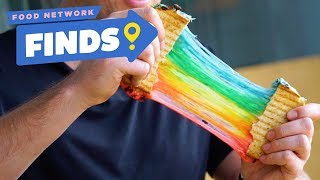 Rainbow Grilled Cheese at Milk Tavern | Food Network Finds