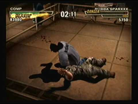 Def Jam Fight for NY - Comp vs Bubba Sparxxx @ the Chopshop (HARD)