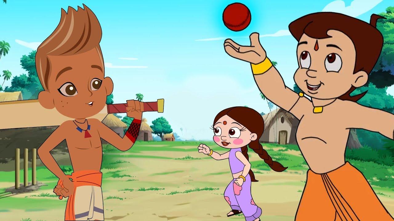 Download Chhota Bheem - Cricket Challenge | Dholakpur Vs Kalaripuram | Hindi Cartoon for Kids