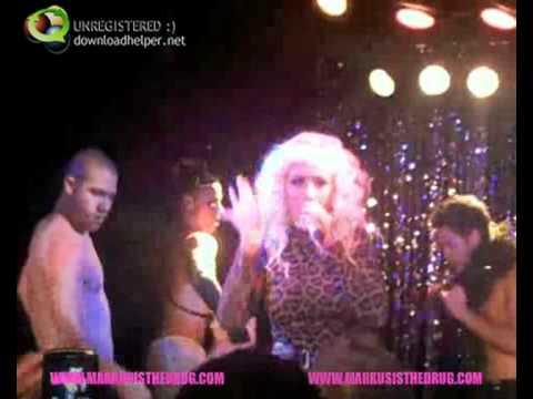 Christina Aguilera - Lady Marmalade (live at Perez Hilton's birthday)