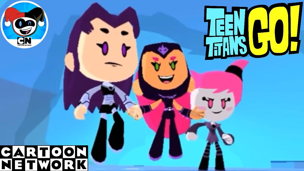 teen titans flash game