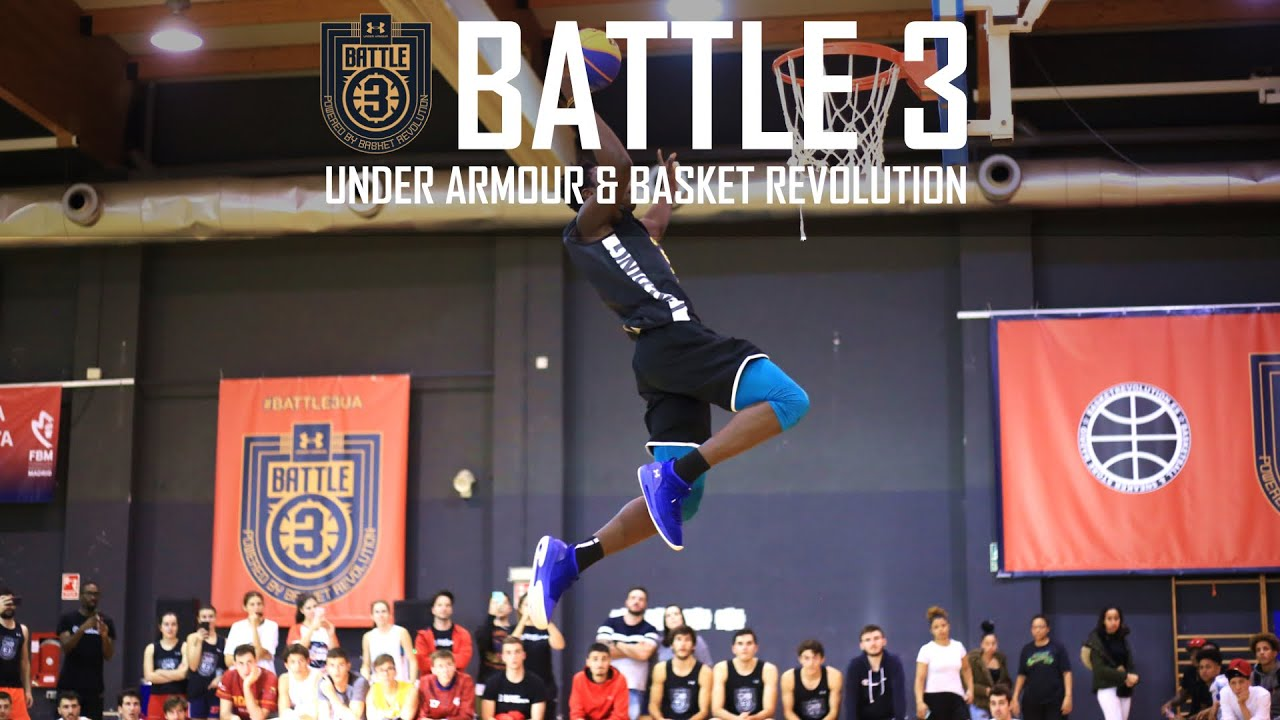 BATTLE 3 - UNDER ARMOUR & BASKET REVOLUTION