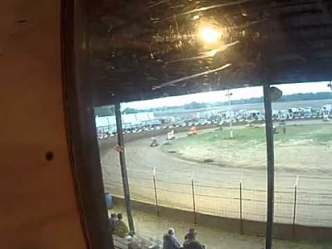 Miami County Speedway #41 and #26 Car Crash