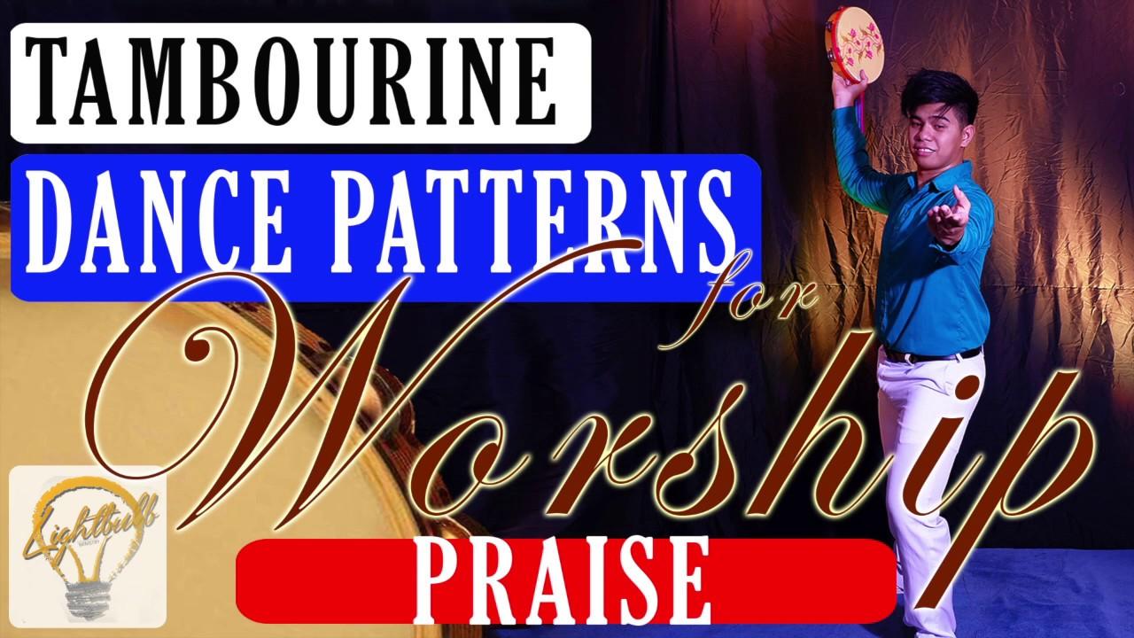 Tambourine Dance Pattern for Worship - Praise - YouTube