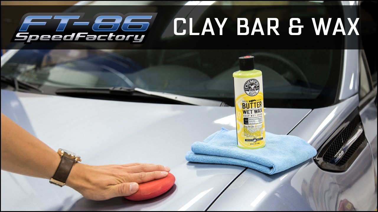 how to clay bar and wax your car ft86speedfactory youtube. Black Bedroom Furniture Sets. Home Design Ideas