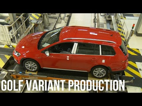 Volkswagen Golf Variant Production