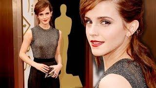 Emma Watson on the Red Carpet Oscars 2014