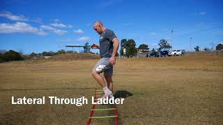 Lateral Through Ladder