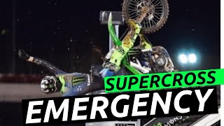 Extremely Disappointed |  Lack Of Safety Precautions 2021 Supercross| McAdoo's Crash Atlanta 2
