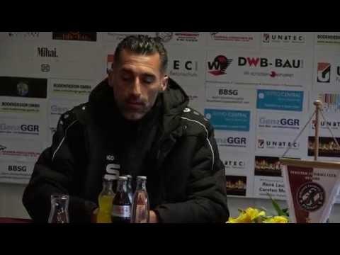 BFC Dynamo - VFC Plauen, Pressekonferenz