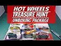 UNBOXING TREASURE HUNT, CLASSIC AND RARE HOT WHEELS PACKAGE