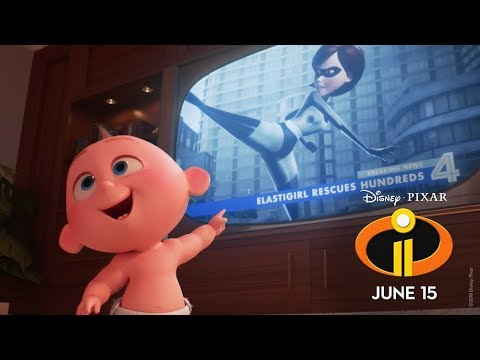"Incredibles 2 ""Suit Up"" Sneak Peek"