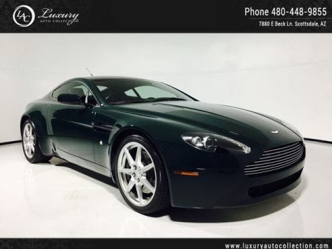 GC Aston Martin Vantage V Coupe Manual Scottsdale - Aston martin scottsdale