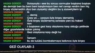 GEZİ 3 - Erdoğan'dan Çarşı Grubunu Destekleyen Beşiktaş Yönetimine Tehdit Ve Küfür