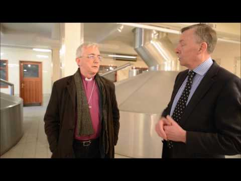 Bishop takes a tour around Banks's Brewery in Wolverhampton