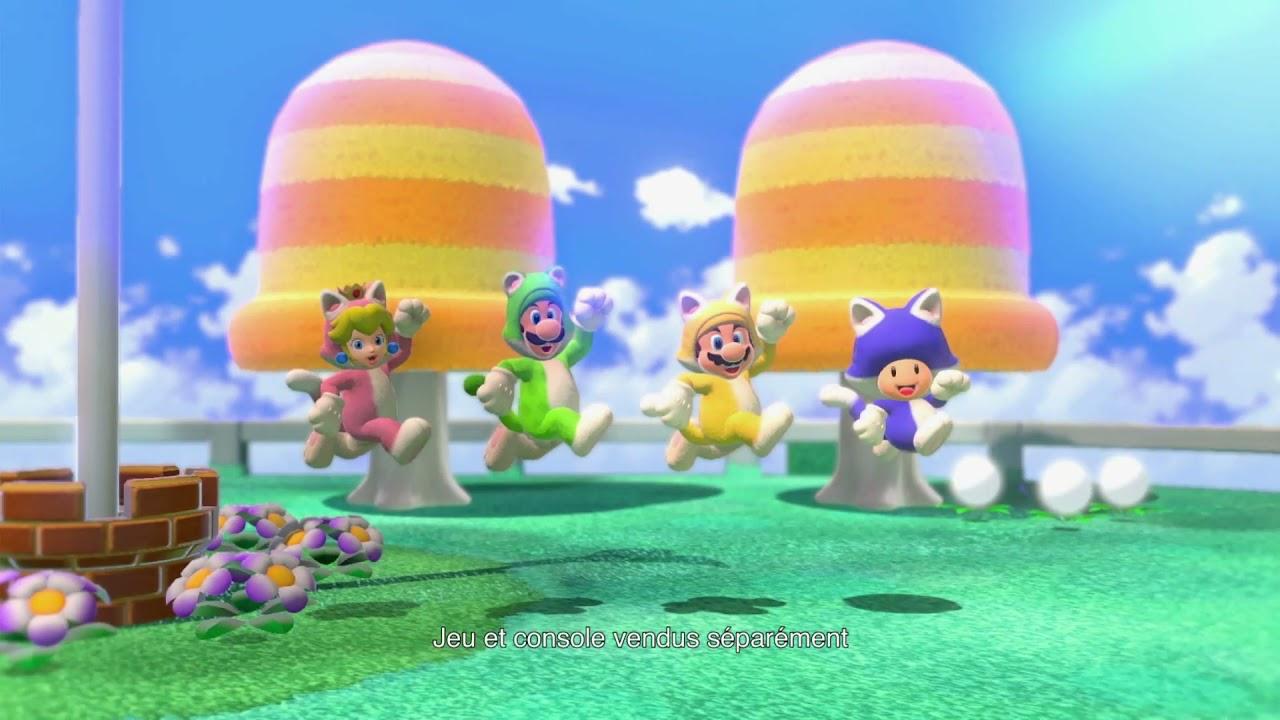 Musique de la pub   Nintendo Switch Super Mario 3D World + Bowser's Fury 2021