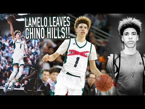 LaMelo LEAVING CHINO HILLS! FINAL High School Game HIGHLIGHTS & Why Its A SMART MOVE!