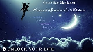 Gentle Sleep Meditation and Positive Affirmations for Self-E...