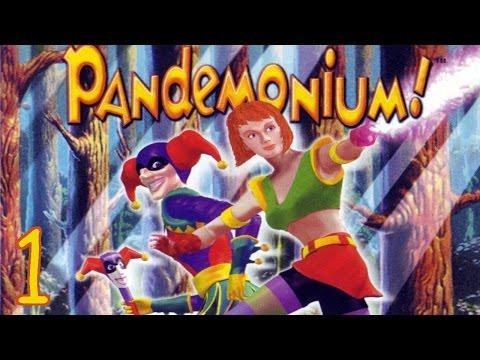 Pandemonium! (PC) Walkthrough part 1 - Level 1 (100%)