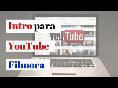 🎥 Como hacer una INTRO para tus VIDEOS de YOUTUBE con FILMORA - [ Video Tutorial ]