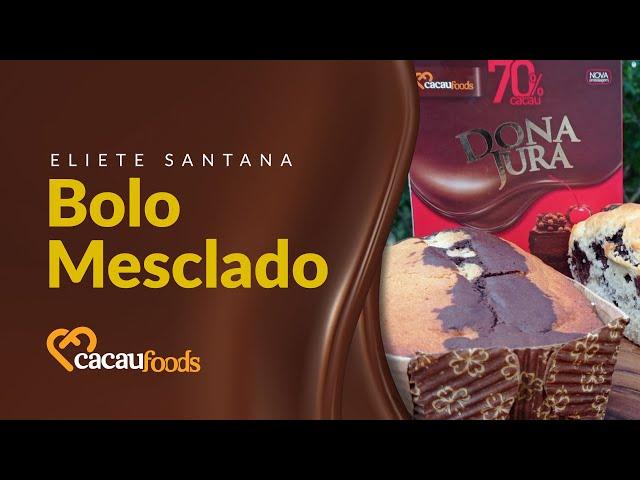 Bolo Mesclado | Cacau Foods