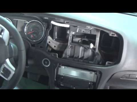2011 2014 Dodge Charger Interior Take Apart Dash Cent
