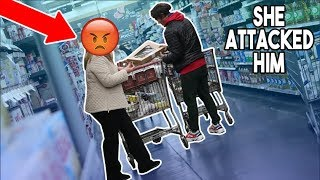 SHOPPING OUT OF PEOPLE
