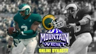 NCAA Football 14: Colorado State Online Dynasty (Mountain West Conference) - EP2