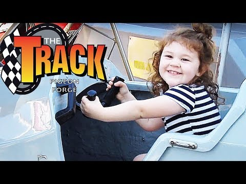Family Fun at 'THE TRACK' in Pigeon Forge, TN