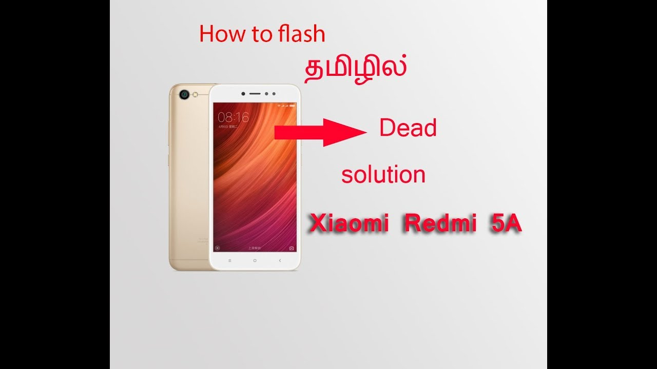 How to flash Redmi 5A