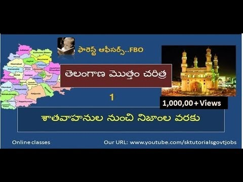 Telangana total history - short term coaching...part-1
