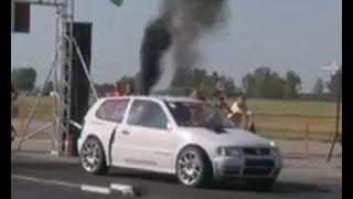 Този с това BMW M6 реши да се пробва срещу бясното VW Polo TDI