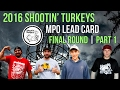 2016 Shootin' Turkeys Part 1 MPO Final Round W/ Commentary (Dempsey, Clark, Shuler, Sather)