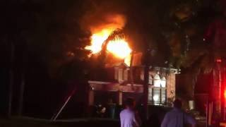 House burns down in middle of night