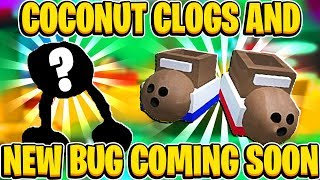 UPDATE NEWS! Coconut Clogs And NEW BUG Coming Soon In Roblox Bee Swarm Simulator