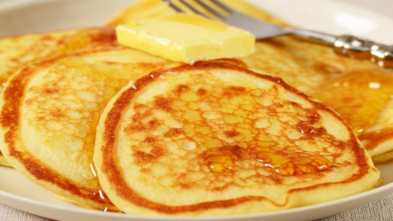 Buttermilk Pancakes Recipe & Video - Joyofbaking.com *Video Recipe*
