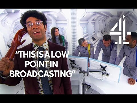Richard Ayoade Freaks Out: