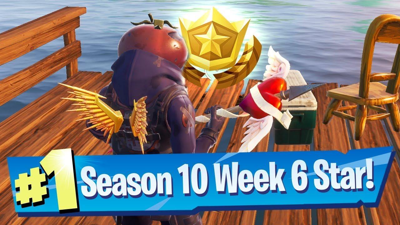 Fortnite Season 10 Week 6 Secret Battle Pass Star Location