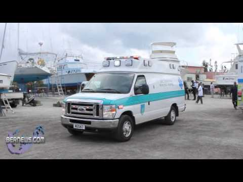 Man Injured Industrial Accident Bermuda May 10 2011