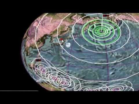 8.0 EARTHQUAKE WITH RESULTING TSUNAMI WARNINGS IN ALASKA NEAR JAPAN'S FUKUSHIMA