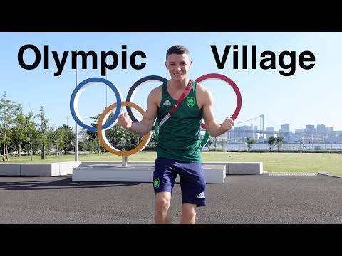 Tokyo Olympic Games Village