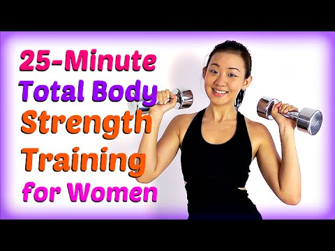 25-Minute Total Body Strength Training for Women (Burn Fat, Lean Up!)